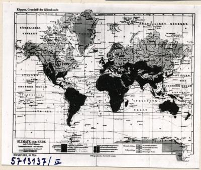 Klimakarte 3; Foto, 1957