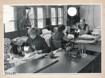 Werksschneiderei; Foto, 1957