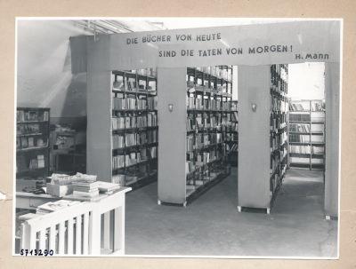 Werkbücherei; Foto, 1957