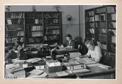 Techn. Betriebsschule; Foto, 1957