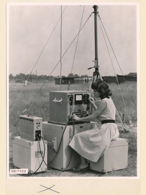 Feldstärkenmesser FSM, Teilansicht, Foto 1958