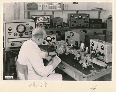 Hohlleiter Messplatz, Bild 1, Foto 1958
