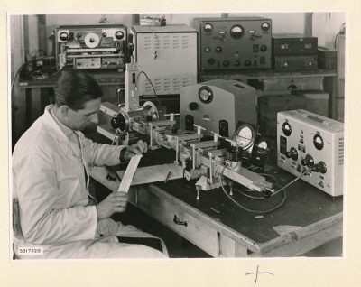 Hohlleiter Messplatz, Bild 2, Foto 1958