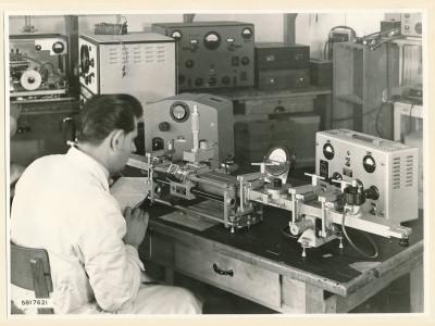 Hohlleiter Messplatz, Bild 3, Foto 1958