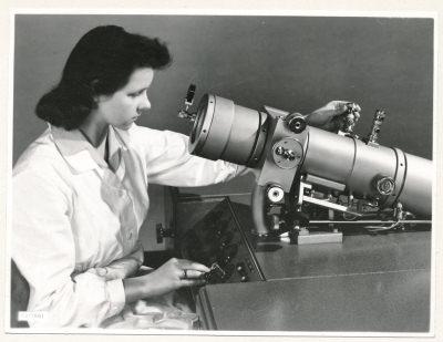 Klein-Elektronenmikroskop KEM1, Bild 14, Foto 1959