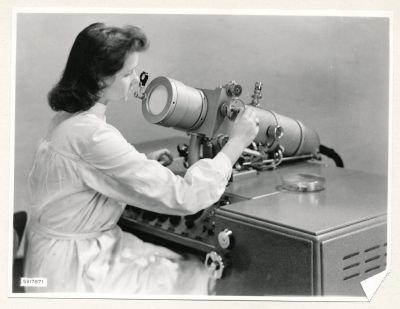Klein-Elektronenmikroskop KEM1, Bild 24, Foto 1959