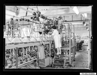 Neues Bildröhrenwerk, Settelband, Foto 1959