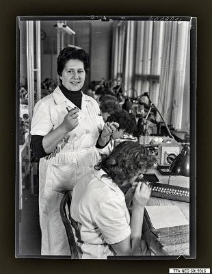 Kollegin Hewel, Foto 1960