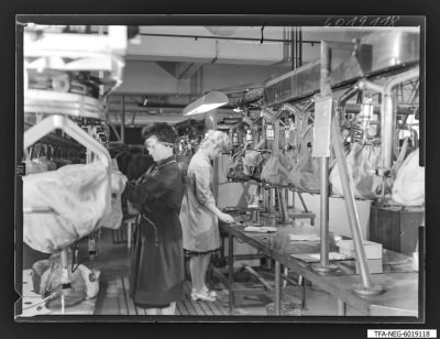 Findbucheintrag: Sockeln der Bildröhren, Bild 5, Foto 1960