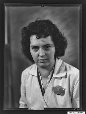 Portrait Frau ben Ahmed, Foto 1960