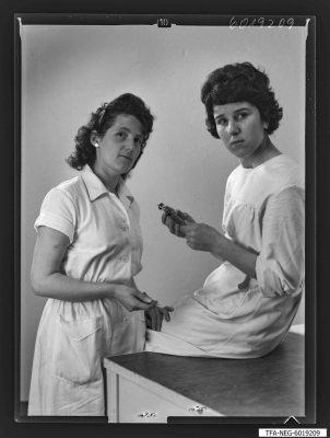 Brigade Kaiser, 2 Mitglieder, Foto 1960
