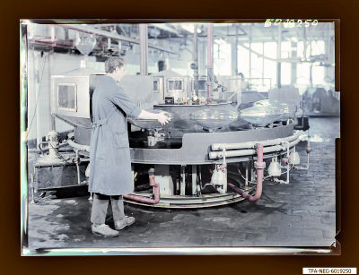 Engl. Kolbenspülmschine, Foto 1960
