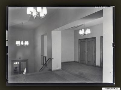 Treppen im Kulturhaus, Foto 1960