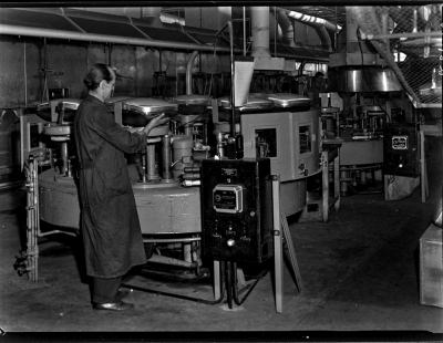Engl. Einschmelz-Automat, Foto 1961