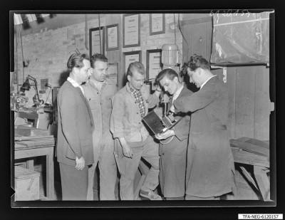 Arbeitsgemeinschaft/Brigade Vorwärts (1. Mai), 5 Männer, Foto1961