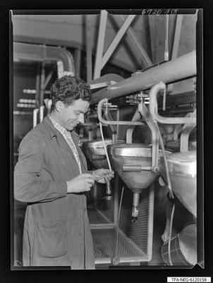 Arbeitsgemeinschaft/Brigade Vorwärts, Kollege Kruse (1. Mai), Foto 1961