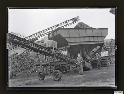 Kohlentransport am Kesselhaus 1, Foto 1961