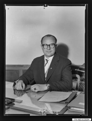 Portrait Koll. Dunkel, Foto 1961