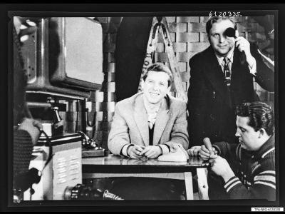 Repro: Fernsehstudio (Ausschnitt), Foto 1961