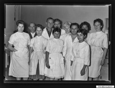 Brigade Fidel Castro, 11 Personen, Foto 1961