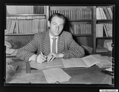 Kollege H. Beiersdorf (Betriebsschule), Foto 1961