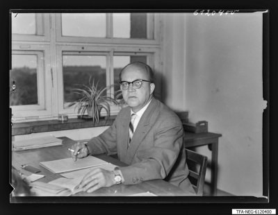 Kollege W.Gunsch TLV5, Foto 1961