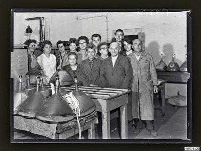 Brigade Gagarin, Gruppenfoto, Foto 1961