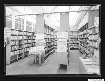 Gewerkschaftsbücherei; Foto, September 1961