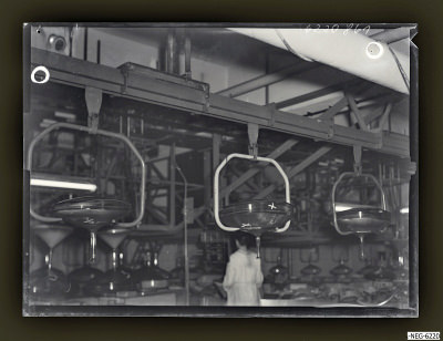 Engl. Transportband, Foto 1962