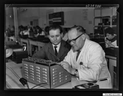 Kollegen Schulz und Beier, Foto 1962