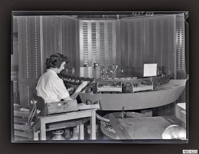 Empfänger-Röhre Prüfautomat, Foto 1962