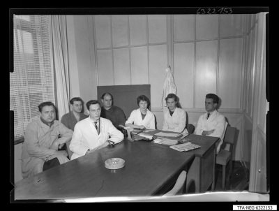 Neuerer-Aktion F.D.J.; Foto 1963