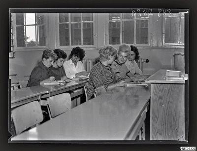 Betriebschule Meisterinnenlehrgang, Foto 1963