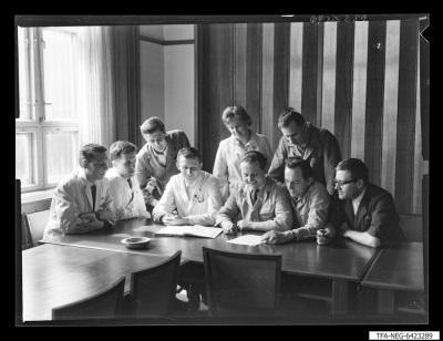 FDJ-Neurer-Aktiv; Foto 1964