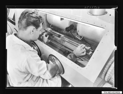 Super-Orthikon, Einbau Speichersystem, Foto 1965