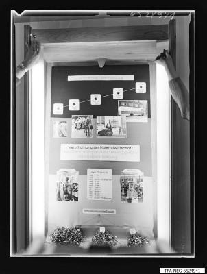 20 Jahre WF Schaukasten Materialumschlag, Foto 1965