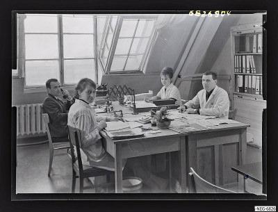 Prognose-Abteilung WF-Produktion, Foto 1968