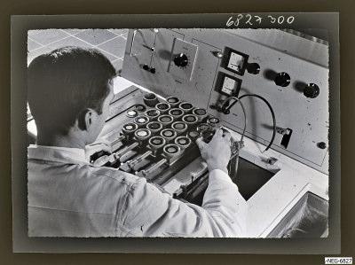 Foto für einen Lehrvortrag Diode 1, Foto 1968