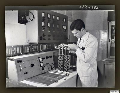 Foto für einen Lehrvortrag Diode 3, Foto 1968