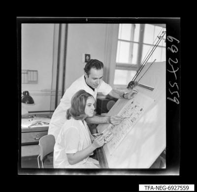 Technische Zeichner, Foto 1969
