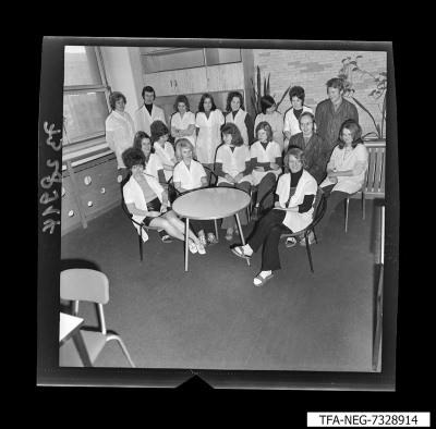 Gruppenbild des Jugendkollektivs DS, Bild 3, Foto 1973
