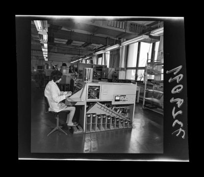 Fertigung der Abteilung Diode, Foto 1973