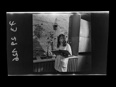 Junge Mitarbeiterin der Brigade DS, Foto 1973