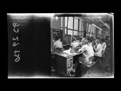 Fertigungseinrichtung der Diode, Bild 1, Foto 1973