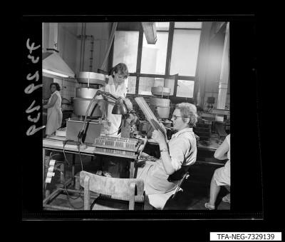 Fertigungseinrichtung der Diode, Bild 10, Foto 1973