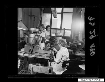 Fertigungseinrichtung der Diode, Bild 11, Foto 1973