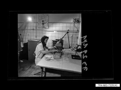 Fertigungseinrichtung der Diode, Bild 12, Foto 1973
