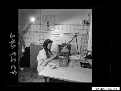 Fertigungseinrichtung der Diode, Bild 13, Foto 1973