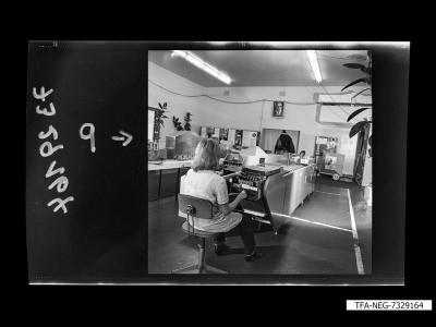 Diodenfertigung, Bild 2, Foto 1973