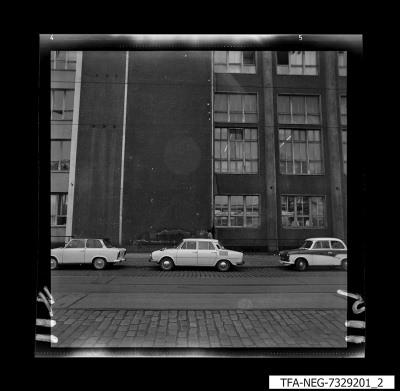 Hausansicht WF-Gebäude, Bild 2, Foto 1973